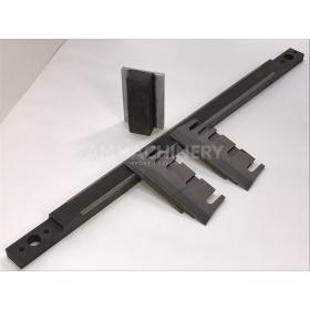 Set of 40 Corn knives + shearbar including sharpening stone for John Deere® Wide Body